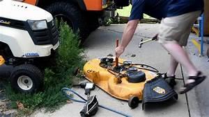 Cub Cadet Ltx1045 Mower Deck Repair Pt 2