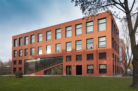 Modern Architecture The Red Brick Photograph By Jaak Nilson
