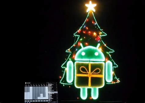 yes you can even use android to control your christmas