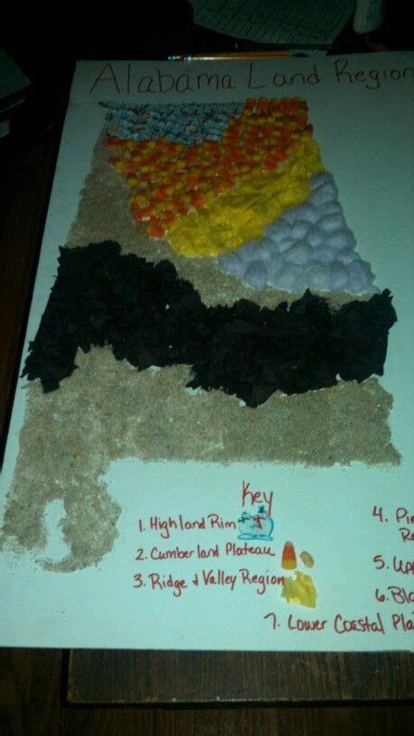 Land Region Project For 4th Grade School Pinterest