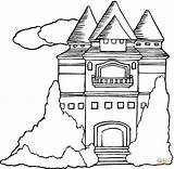 Mansion Coloring Pages Printable Houses Template Clipart 58kb 1200 Categories sketch template