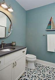 River Rock Bathroom Shower Tile