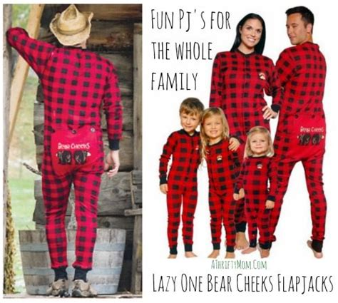 one gift for entire family lazy one cheeks flapjacks family pj s a thrifty recipes crafts diy and more
