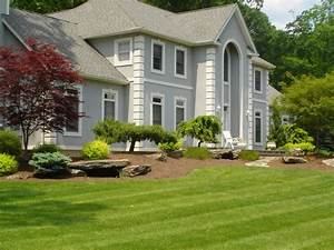 landscaping ideas for front of house with porch With garden design front of house