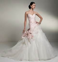 pink wedding gowns white wedding dresses a trusted wedding source by dyal net