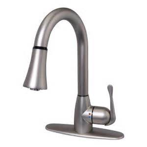 two handle kitchen faucet glacier bay new touch single handle kitchen faucet with