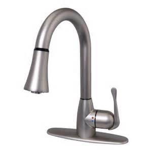 two handle kitchen faucet glacier bay new touch single handle kitchen faucet with