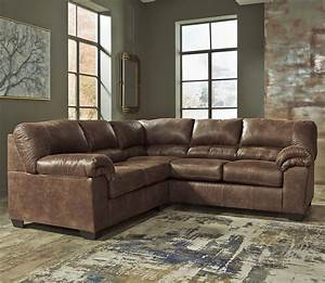 signature design by ashley bladen 2 piece faux leather With faux leather sectional sofa ashley