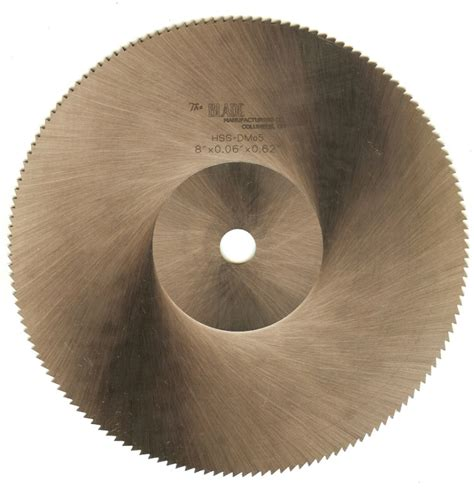 circular saw blade sharpening high speed steel saw blades the blade mfg co