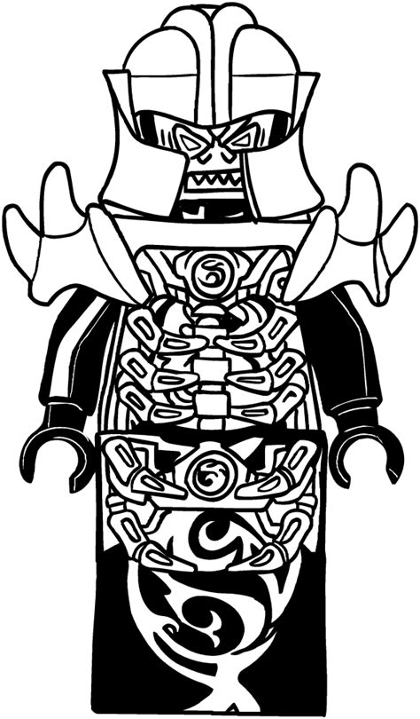 overlord  ninjago coloring pages