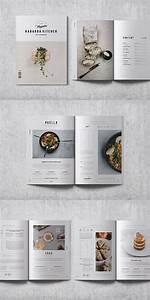 cookbook recipe book layout indesign template recipe