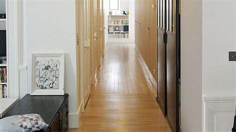 decoration de couloir  appartement menuiserie