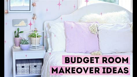 decorate   budget  cheap room makeover ideas