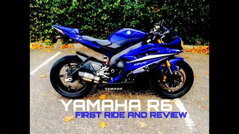 Review Yamaha R6 by Yamaha R6 Ride And Review