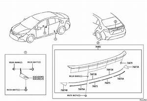 Toyota Corolla Spoiler Sub