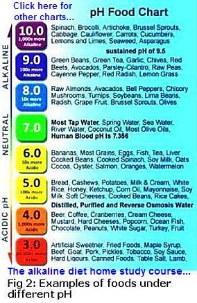 balancing  bodys acid alkaline ph
