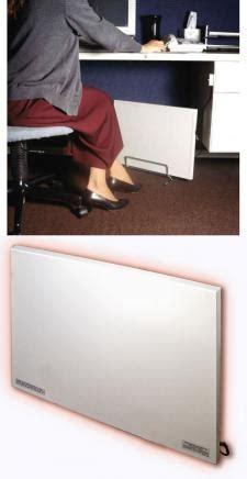 Cozy Legs Under Desk Leg Warmer   Radiant Foot Warmer
