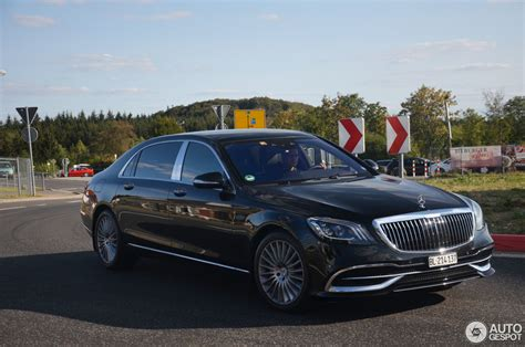 The 2020 maybach s 650 starts at $202,550 (msrp), with a destination charge of $995. Mercedes-Maybach S 650 X222 2018 - 11 September 2018 - Autogespot