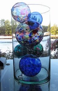 Decorative Glass Balls Glass Art Pinterest