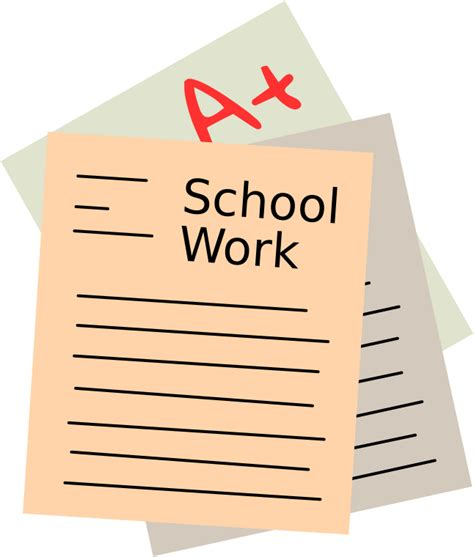Clipart Work Clipart Of School Work 101 Clip