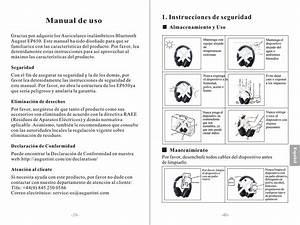 August Ep650 Manual 20170629 Ep650 Es