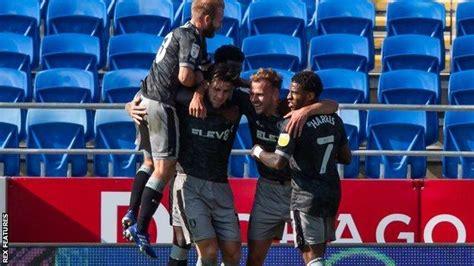 EFL: Harrogate make dream start as Sheffield Wednesday ...