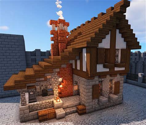 medieval blacksmith botcraftnet minecraft cottage minecraft houses minecraft mansion