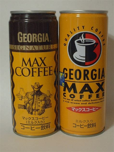 We'd love to give this new sport a try! Arthur's place:GEORGIA MAX COFFEE 新パッケージ - livedoor Blog(ブログ)
