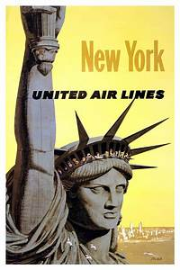 New York Poster : vintage posters united air lines new york ~ Orissabook.com Haus und Dekorationen