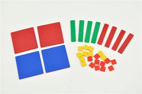 Algebra Tiles Manipulatives algebra tiles on math manipulatives