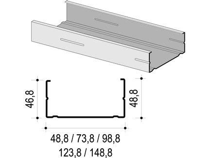 75 cw profil knauf cw profil 125 x 50 x 0 6 mm