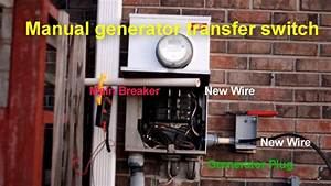 How To Connect A Transfer Switch To A Generator