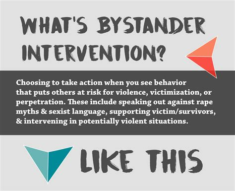 bystander intervention sexual assault prevention