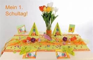 Tischdeko Schulanfang Ideen : tischdeko zur einschulung in gr n und orange ein echter hingucker tafeldeko ~ Avissmed.com Haus und Dekorationen