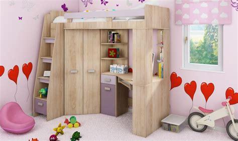 lit combine bureau lit en hauteur combin avec bureau armoire et rangement intgr