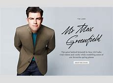 Mr Max Greenfield THE LOOK The Journal MR PORTER