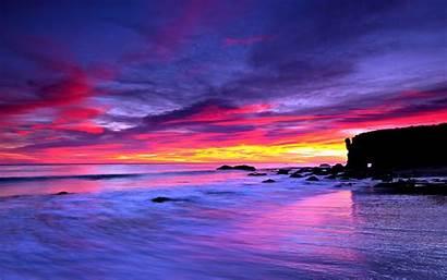 Sea Ocean Wallpapers Sky Pc Desktop Sunset