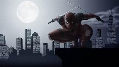 Deadpool 4k Wallpapers Stalker Night Digital Superheroes