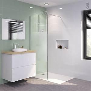 Paroi De Douche Miroir : paroi de douche l 39 italienne 80 cm verre d poli 8 mm 1 ~ Dailycaller-alerts.com Idées de Décoration