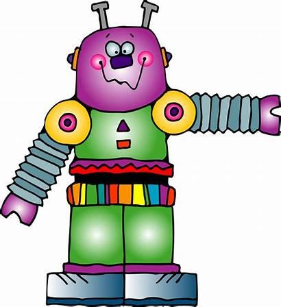 Robot Clip Clipart Robots Families Clipartpanda Fact
