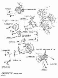 2003 Lexus Gx 470 Serpentine Belt Routing And Timing Belt