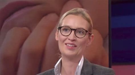 weidel beine politician weidel aims to bring racism back
