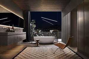 Salle De Bain Haut De Gamme : l am nagement salle de bain haut de gamme 5 ambiances ~ Farleysfitness.com Idées de Décoration
