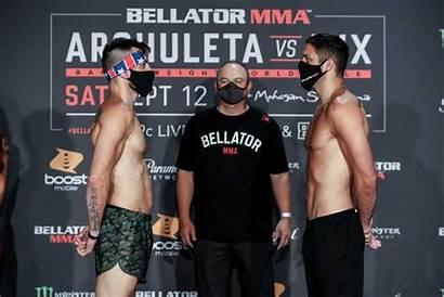 Bellator Weigh Fitch Gracie Jon Archuleta Neiman