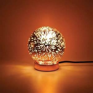 Lampe Rose Gold : locomocean galaxy table lamp rose gold lighting direct ~ Teatrodelosmanantiales.com Idées de Décoration