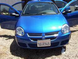 neongal blue s 2004 Dodge Neon in Lake Forest CA