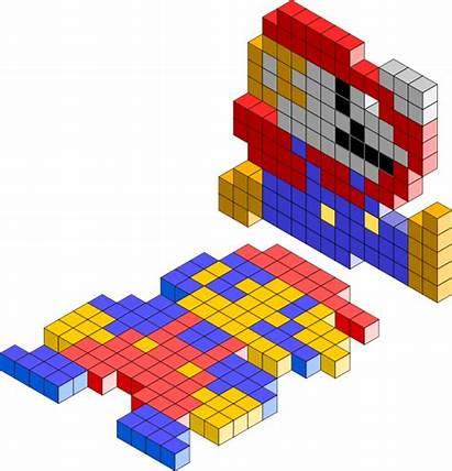 Blocks Mario 3d Bros Clip Clker Franchises