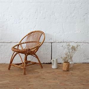 Fauteuil Rotin Enfant : fauteuil rotin vintage enfant atelier du petit parc ~ Teatrodelosmanantiales.com Idées de Décoration