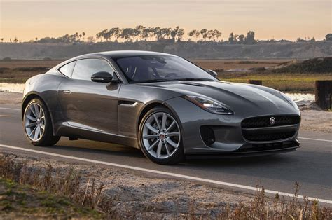 Jaguar Type Coupe Turbo Four First Test Motor Trend
