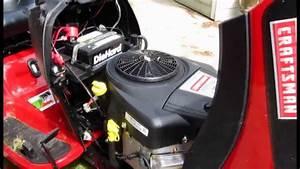 Craftsman Yt4000 Lawn Tractor Demonstration
